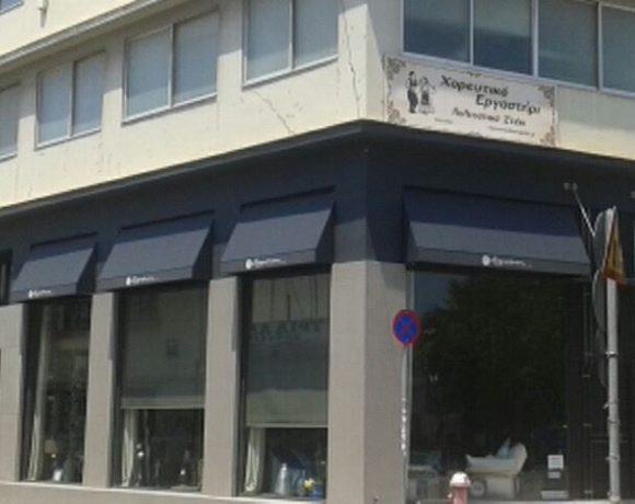 Τοποθέτηση καμπύλων τεντών σε κατάστημα στην Νέα Ιωνία | Tentagon