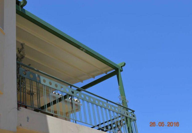 Εγκατάσταση περγκοτέντας σε οικία στην Αγία Παρασκευή | Tentagon