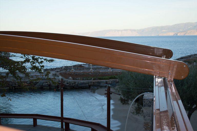 Περγκοτέντα στο ξενοδοχείο Elounda resort στην Κρήτη   Tentagon