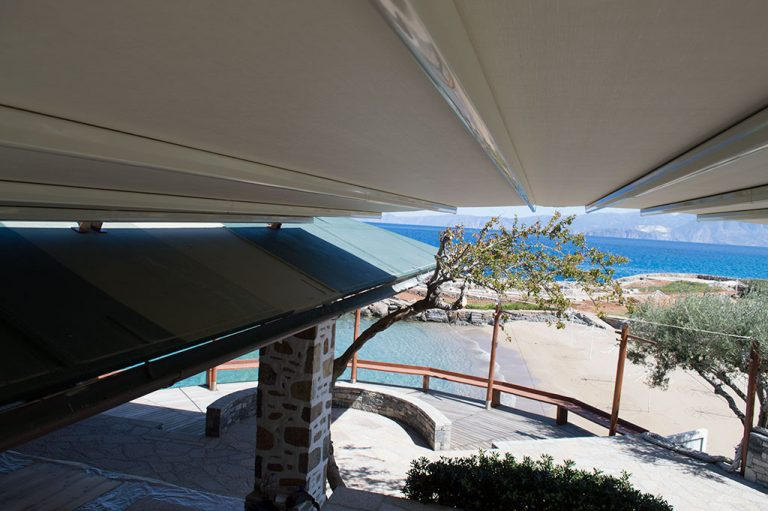 Περγκοτέντα στο ξενοδοχείο Elounda resort στην Κρήτη | Tentagon