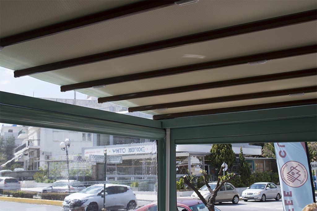 Περγκοτέντα και περιμετρικό κλείσιμο καφετέριας στην Ηλιούπολη