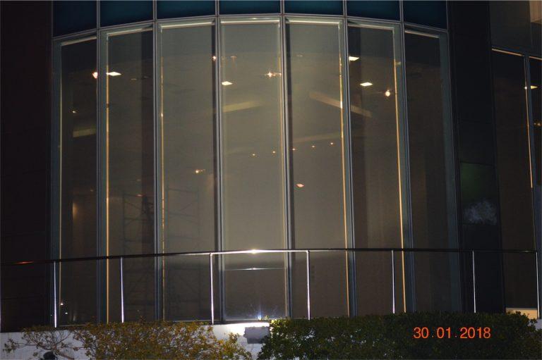 Τοποθέτηση κάθετων ρόλλερ στην νέα έκθεση της Skoda στην Γλυφάδα | Tentagon
