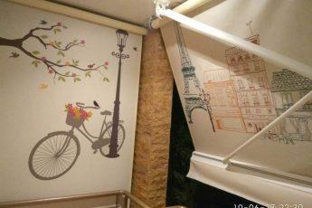 Τέντες με βραχίονες και πλαινό κάθετο στον Γέρακα | Tentagon